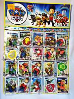 Набор игровых фигурок для мальчиков Набор героев  Щенячий Патруль (TBG346)  20 героев, герой + карточка