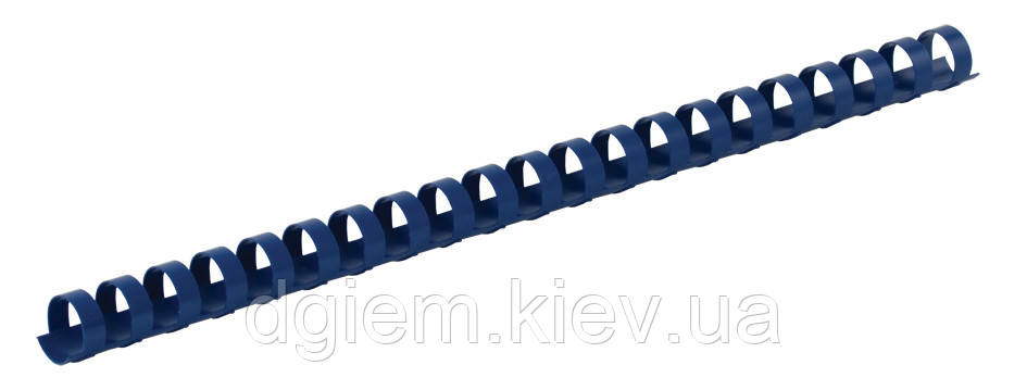 Пружины пластиковые d 22мм синие 50шт