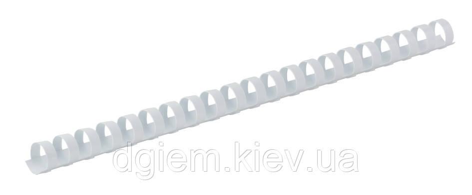 Пружини пластикові d 22мм білі 50шт