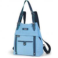 Cумка-рюкзак Dolly 360 трансформер с дополнительным плечевым ремнем 28см х 33см х 15см, фото 1
