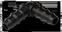 Соединитель-колено для трубки 25мм