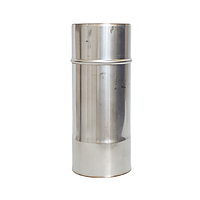 Труба  з нержавіючої сталі, H=0.5, 0.25м, Ø130