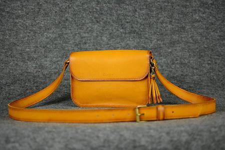 Женская сумочка «BerTy»  11300  Италия   Янтарь