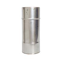 Труба  з нержавіючої сталі, H=0.5, 1м, Ø130