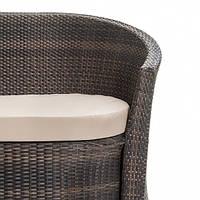 Мягкая сидушка для двухместного ротанговый диван Disco