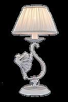 Настольная лампа Colors MT G5573/1SL SJ белый/ткань/хрусталь, фото 1
