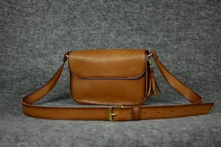 Женская сумочка «BerTy» |11301| Италия | Орех