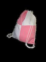 Рюкзак габардин клетка для сублимации цвет Розовый