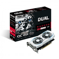 ASUS Radeon RX 460 2GB DUAL GAMING OC