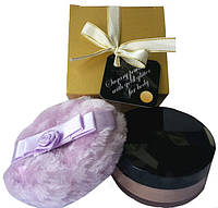 Съедобная пудра для тела с феромонами и мерцающими пылинками  №1