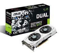 NVIDIA, ASUS GeForce GTX 1070 DUAL OC 8GB GDDR5 VR Ready