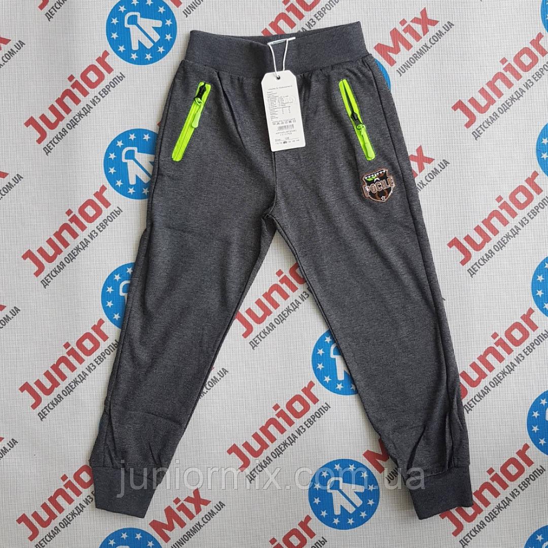 Трикотажные спортивные штаны на манжете  для мальчика GRACE  ОПТОМ