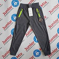 Трикотажные спортивные штаны на манжете  для мальчика GRACE  ОПТОМ, фото 1