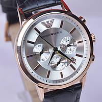 Мужские наручные часы  Emporio Armani AR-249G Gold с хронографом (копия)