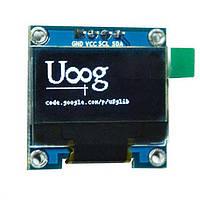 "OLED LCD ЖК дисплей/экран 0,96"" 2,7х2,8см 128x64"