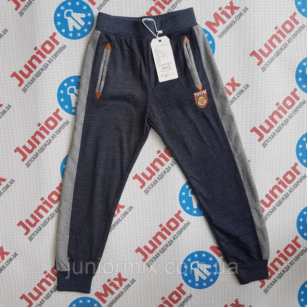 Спортивные детские штаны для мальчика на манжете  GRACE