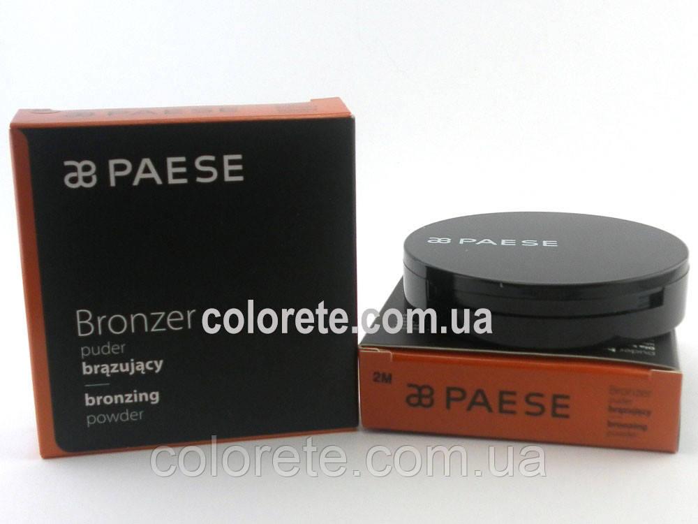 Paese Компактная пудра-бронзатор (2M) Bronzer Powder Coconut Oil