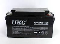 Аккумулятор BATTERY GEL. 12V 65A UKC