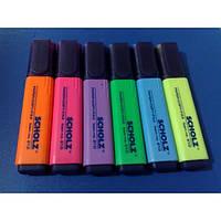Текст-маркер (желтый, оранжевый, зеленый, голубой, розовый)