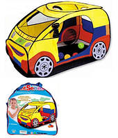Палатка детская игровая «Машинка» M 2497
