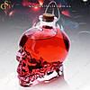 """Скляний графин - """"Crystal Skull"""" - 750 мл + оксамитовий чохол"""