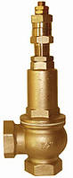 Клапан предохранительный пружинный регулируемый прямого д-я муфтовый IVR, (Италия), Ду 50
