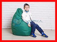 Кресло мешок груша детская | зеленый Oxford