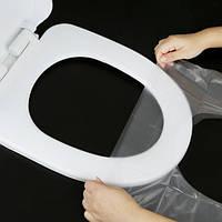 Защитная накладка на унитаз гигиеническая  6 шт в упаковке