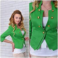 Жакет Эрика (07) зелёный