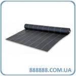 Агроткань против сорняков PP черная UV 70 гр/м2 размер 0.8 х 100м AT7008100 Bradas