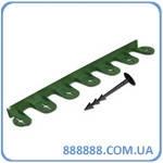Бордюр Palisgarden зеленый 75м OBP1201-075GR Bradas