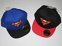 Кепки для мальчиков Superman оптом, 54-56 см., фото 1
