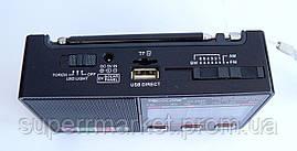 Радио Golon RX-8866  8868  FM AM SW  MP3 + фонарик, черная, фото 3