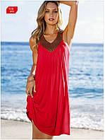 Пляжное платье с украшениями оптом AL7309