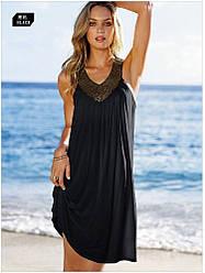 Пляжное платье с украшениями AL7309