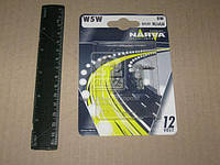 Лампа накаливания W5W 12V 5W W2,1X9,5d (производитель Narva) 17177B2