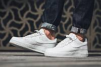 """Мужские Кроссовки Nike Air Force 1 '07 Lv8 """"All White"""" Белые"""