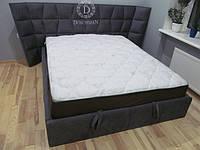 Ліжко з м'яким узголів'ям