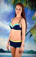 Женский пляжный купальник с шортами