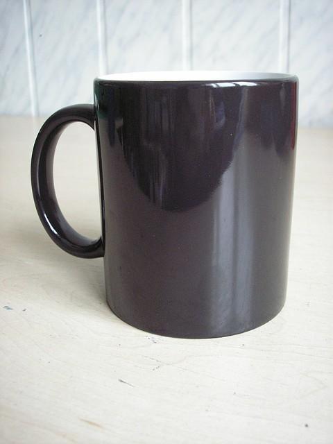 Магические чашки черные 310 мл