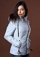 Утепленная куртка с асимметричной молнией