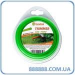 Леска для триммера Trimmer круг 1,3мм x 15м блистер ZTO1315B Bradas