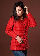 Демисезонная куртка с узким манжетом с резинкой