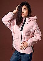 Курточка с объемными накладными карманами