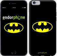 "Чехол на iPhone 6 Бетмен логотип ""3201c-45-4848"""