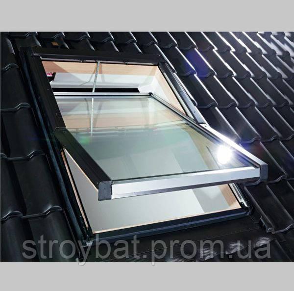 Мансардне вікно Roto Designo R4 з дерева 74/140
