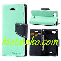 Чехол Book Cover Goospery Samsung I9300 Blue
