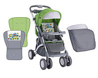 Детская прогулочная коляска APOLLO GREEN&GREY CAR ТМ Lorelli (Bertoni) 10020901714