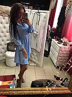 Женское красивое платье из легкого хлопка (2 цвета)