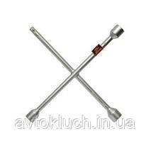 """Ключ баллонный крестовой, размер 17 х 19 х 22 х 1/2"""" мм, серия Стандарт (АвтоDело)"""